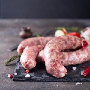 Free Range Reared Pork Chipolatas
