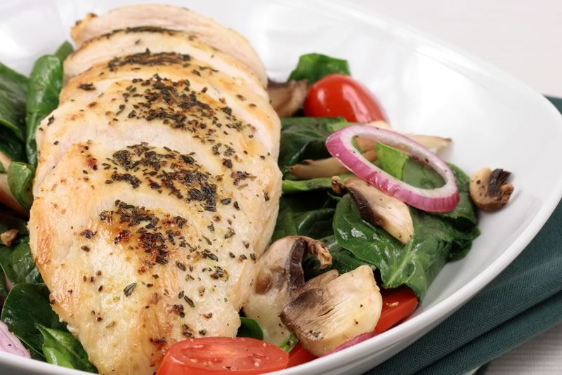 Garlic Spinach Chicken Recipe