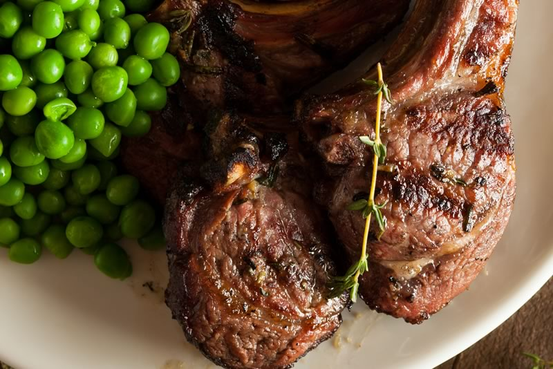 Lamb with Rosemary and Port Recipe