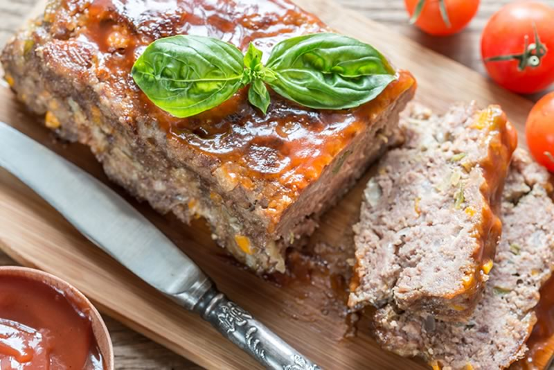 Meat Loaf with Onion Sauce Recipe