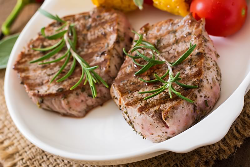 Cajun lamb steaks recipe